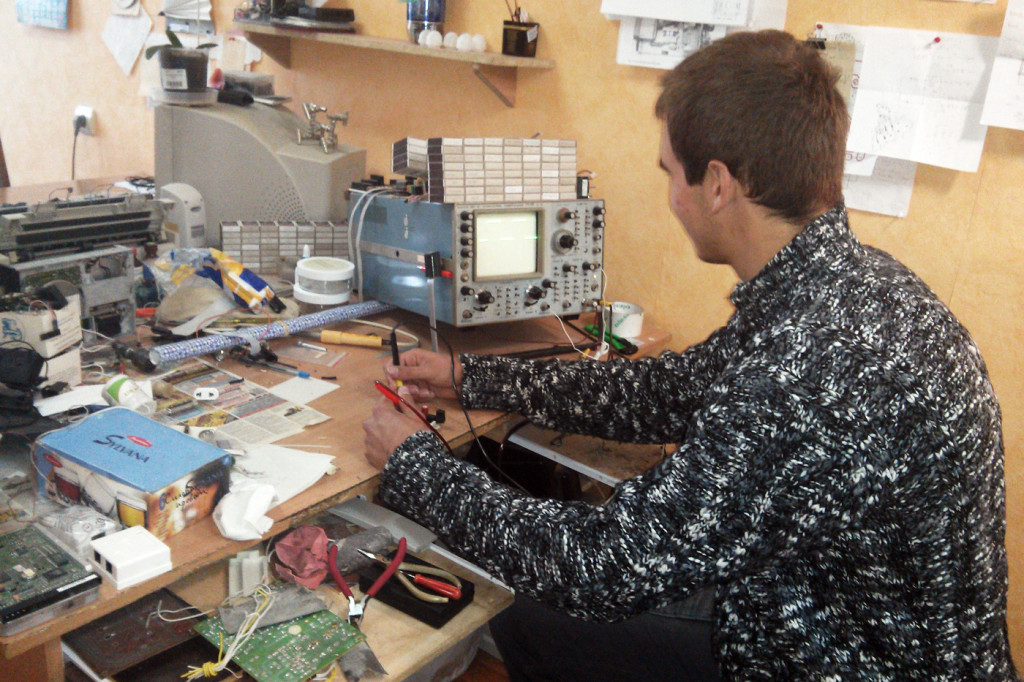Занятие в лаборатории 224а кафедры системной инженерии