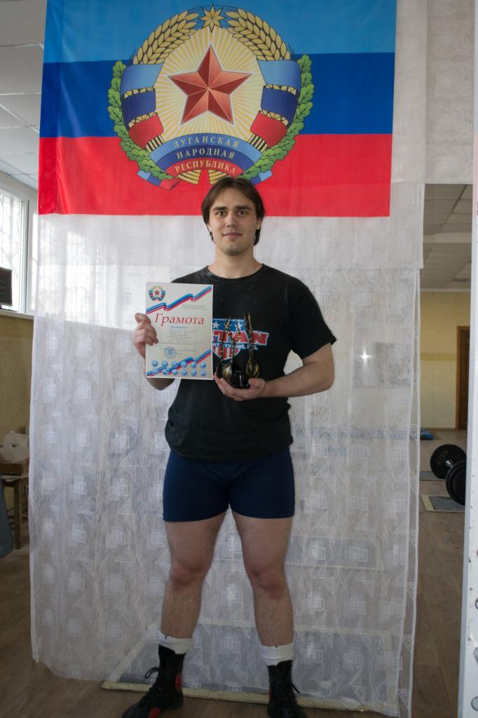 Дмитрий Булгаков, студент 4 курса кафедры «Системная инженерия», кандидат в мастера спорта, чемпион Луганской Народной Республики по пауэрлифтингу и тяжелой атлетике 2015 года в весовой категории до 105 кг