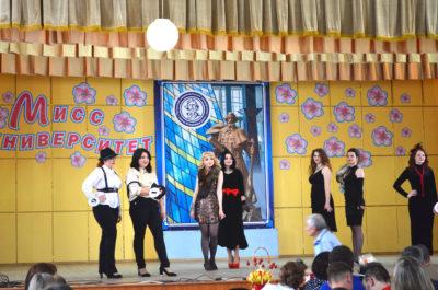 Танцевальный конкурс. «Мисс Университет – 2017»