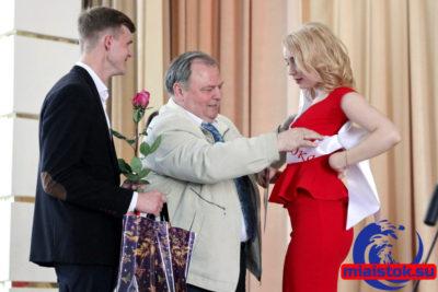 Вручение награды. «Мисс Университет – 2017»
